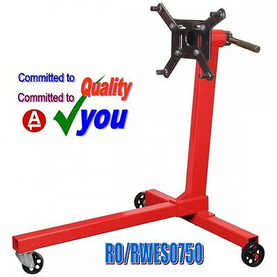 Engine Gearbox Transmission Swivel Head Mount Support Stand 350kg (750lb)