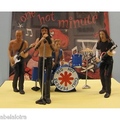 Figuras Figures Red Hot Chili Peppers  En Resina Nuevas Cd Dvd New