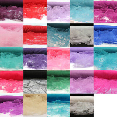 1 Metre Soft Veiling Fabric Tutu Bridal Net Dress Costume Shimmer 160Cm Wide