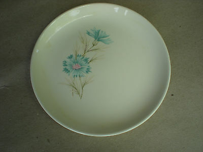"""Ever Yours Boutonniere 10"""" Dinner Plate Taylor Smith Taylor USA"""