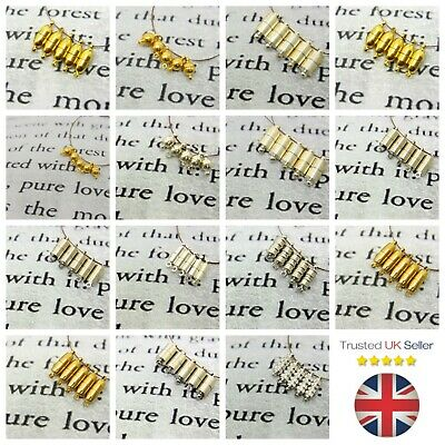 2 Pcs - Strong Magnetic Jewellery Clasps Silver & Gold Plated Choose Style ML