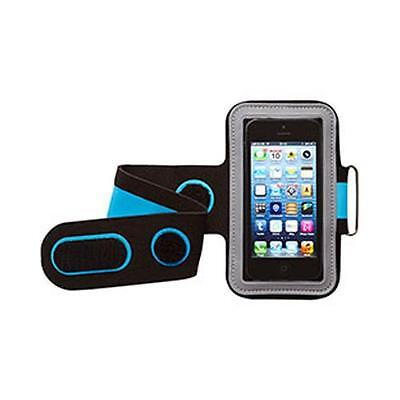 Groov-e GVAM1 High Quality Neoprene Sport Armband For Mobile Devices Blue/Black