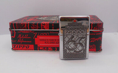 NIB 1997 65th Anniversary Zippo Lighter Collectible In Tin Original packaging