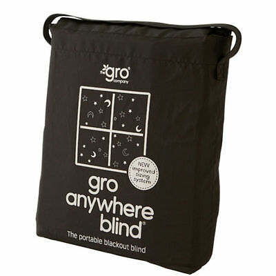 Gro Anywhere Blackout Blind - Travel Baby Windows Curtains Veil Improved Baa Baa