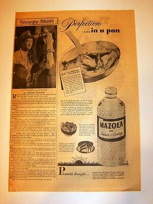 2/26/1950 - Snappy Shots - ROY ROGERS and TRIGGER