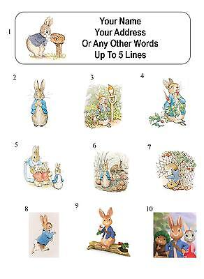 30 Peter Rabbit Personalized Address Labels