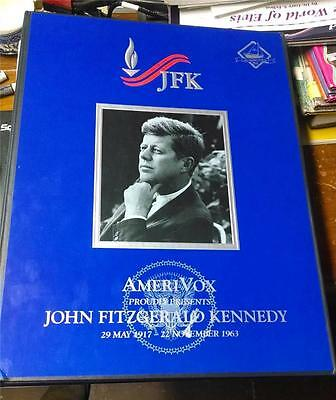 Amerivox JFK Promo Album Phone Cards