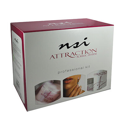 nsi Attraction Nail Acrylic Professional Kit