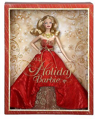 2014 HOLIDAY Blonde Barbie Doll Special Edition BEAUTIFUL!
