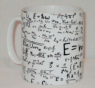 Equations Formulas Gift Mug Can Personalise Teacher Mathematics Maths Science