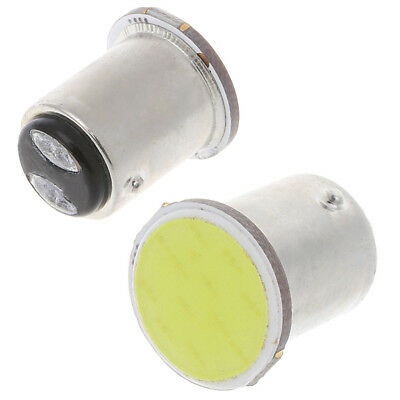 Super Bright White 12V 1157 BAY15D 12 SMD COB White Car Brake Parking Light Bulb