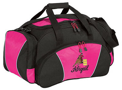 Barrel Racing Embroidered Duffel Bag