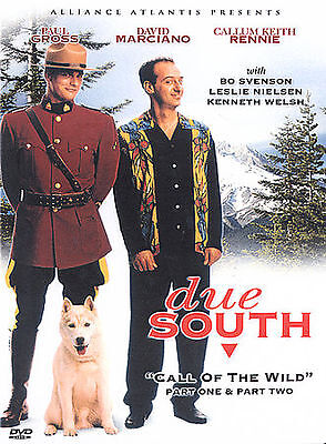 Due South - Call of the Wild Part 1 and 2 David Marciano Gross  (DVD, 2003) FS