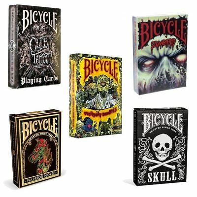 Genuine Bicycle Deck Playing Cards Halloween Horror Casino Poker Magic