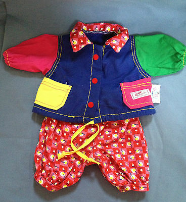 Zapf Creations BABY BORN Doll COTTON MULTI COLORED JACKET & PANTS OUTFIT