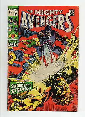 Avengers Vol 1 No 65 Jun 1969 (VG+) Marvel, Silver Age (1956 - 1969)