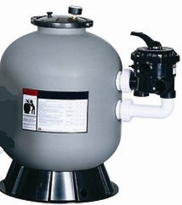 """swimming pool/pond/spa 16"""" Sand filter with SIDE mount 7 Position Multi-Port 8m3"""