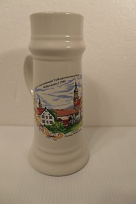 German Beer Mug 25 Internationale Volkssportveranstaltug Postamt Wilhermsdorf