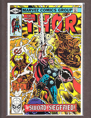 THE MIGHTY THOR 297 RARE BRONZE-AGE BEAUTY 1980 NM+ 9.6 ~WOW~