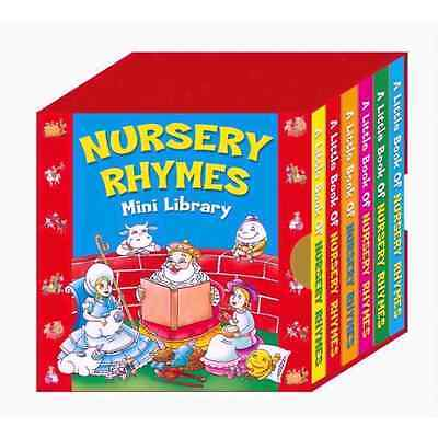 Nursery Rhymes Mini Library Set Of 6 Board Books Of Classic Favourites 1932/nrml