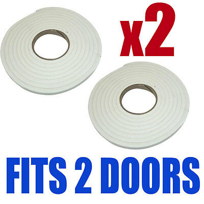 9M Foam Window Door Draft Draught Excluder Weather Strip Insulation Roll