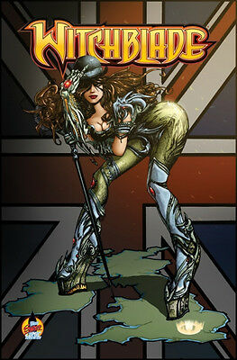 Witchblade #164: London Super comic con 2013 Variant