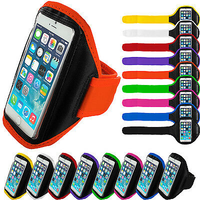 For Apple iPhone 6 Plus 5.5 Gym Sport Running Armband Arm Band Case Cover