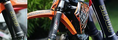 Forkshrink 360 Upper Fork Protectors Honda Cr Crf 80 85 150 125 250 450 500 Mx
