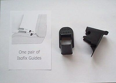 Pair Of Isofix Guides(2) Fits Britax Maxi Cosi,jane,concord And Others Bn