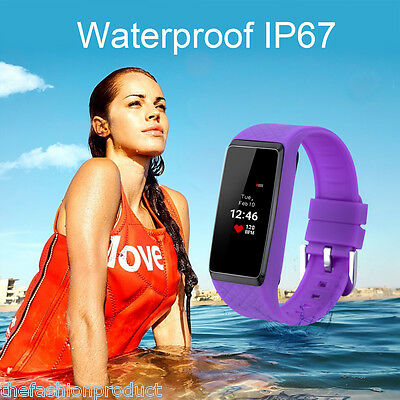 Bluetooth Bracelet Smart Touchscreen Watch Anti-lost For Samsung Galaxy S5 S4 S3