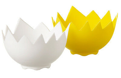 Eddingtons Poach Perfect Silicone Egg Poachers Pods Set 2 Easy to Use Non Stick