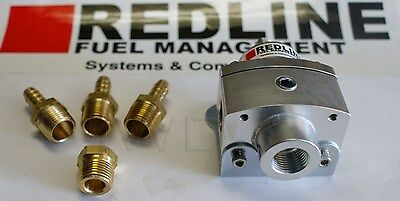 Weber Redline Billet Aluminum Universal Fuel Pressure Regulator 0.8 to 7.5 PSI