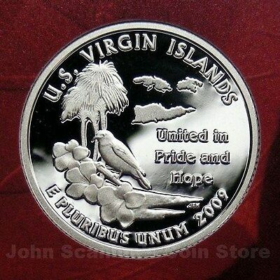 2009-S Virgin Islands US Territory Quarter Gem Proof Deep Cameo (90% Silver