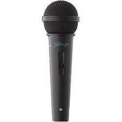Stagg MD500BKH Quality Karaoke Singing Music Dynamic Microphone with 6m Cable