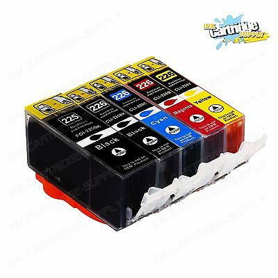 5PK NEW Ink Cartridges with chip for pgi-225 cli-226 Canon MG8120B MG8220