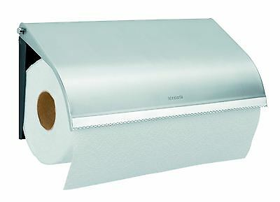 Brabantia Wall Mounted Matt Steel Kitchen Paper Towel Roll Holder