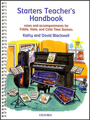 Starters Teacher's Handbook/CD Kathy & David Blackwell Fiddle Viola Cello Time