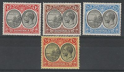 Dominica 1923 Kgv Ship Range To 3D