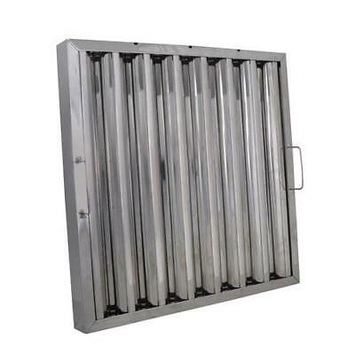 """Baffle Grease Hood Filters 12"""" x 20"""" Stainless Steel Commercial Range"""