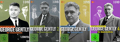 12 DVDs * GEORGE GENTLY - STAFFEL / SEASON 1 + 2 + 3 + 4 IM SET # NEU OVP &