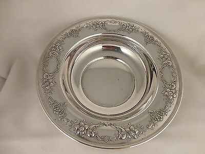 "Chantilly Floral-Gorham Sterling 10"" Bowl-1956"