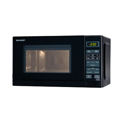 Sharp R272KM Solo 800W Microwave Oven with 20L Capacity