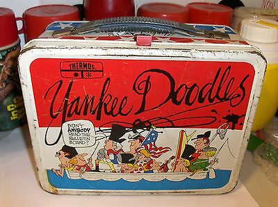 Yankee Doodles`1975`Betsy Ross`King Seeley Thermos Co`Metal Lunchbox->Free To US