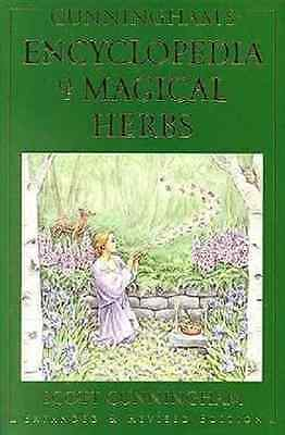 Encyclopedia Of Magical Herbs Cunningham Herbal Ritual Wicca Magic Magick