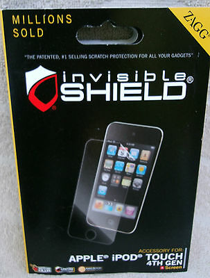 2 X ZAGG Invisible Shield Screen Protector For Apple, iPod Touch 4th Gen. ~ NEW
