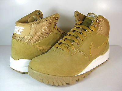 Nike Hoodland Suede Men's Running Shoes Gum Light Brown 654888 727