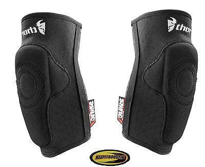 Thor Static Elbow Guards Mx Motocross Motorcycle Atv