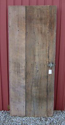 Vintage Antique Barn Door Reclaimed Wood with some Hardware 30x75