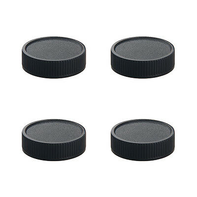 4*Plastic M42 M42*1 Front & Rear Lens Caps Cover for 42mm Camera Body