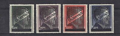 STAMPS   from  AUSTRIA  1945 UNISSUED  Opt.( Osterreich)  (MINT/MLH)  lot 286a